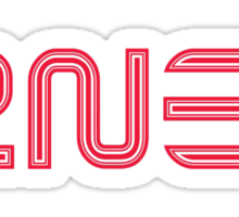 2NE1 Logo Sticker
