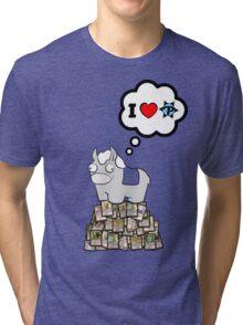 I Heart PucaTrade Tri-blend T-Shirt