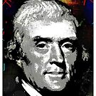 THOMAS JEFFERSON-3 by OTIS PORRITT