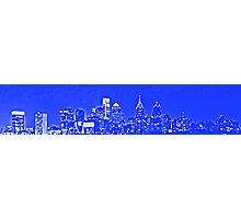 Philadelphia Skyline Panorama - Sixers Photographic Print