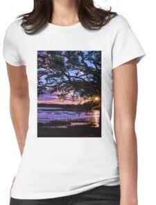 Beaufort Sunset Womens Fitted T-Shirt