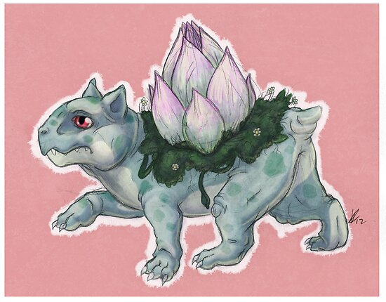 Pokémon to Realism - Bulbasaur by SquishyMew