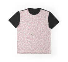 Sausage Dog Pattern Graphic T-Shirt