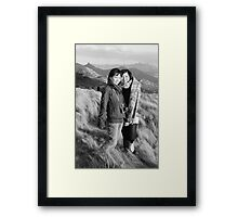 Ling and Kerry 1 Framed Print
