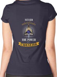 Librarian, Warhammer 40K Women's Fitted Scoop T-Shirt