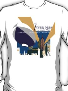 Zeppelin Rides are Just a Universe Away T-Shirt