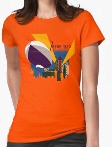 Zeppelin Rides are Just a Universe Away Womens Fitted T-Shirt