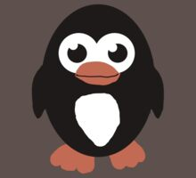 Cute Penguin  Baby Tee