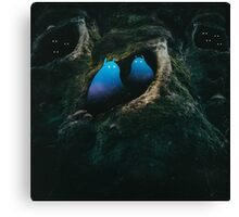 In the Forest of the Night Canvas Print