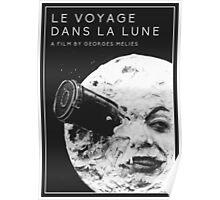 Le Voyage Dans La Lune Film Poster Poster