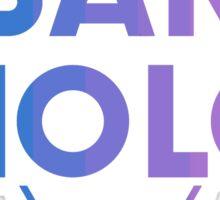 SanHolo Sticker