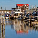 Reflection in Cape May by Marzena Grabczynska Lorenc