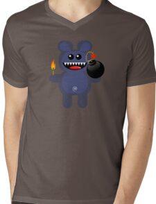 BEAR 4 Mens V-Neck T-Shirt
