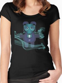 BEAR 7 Women's Fitted Scoop T-Shirt
