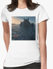 The Wonders of the Sea Womens Fitted T-Shirt