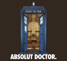 ABSOLUT DOCTOR. by Spudmunkey