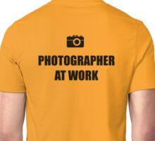 Photographer At Work - Light Unisex T-Shirt