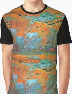 Whacking Colourful Graphic T-Shirt