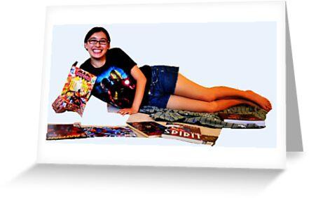 Geeky Pin-Up: Comic Book Girl by geekybombshell