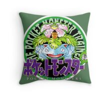 Pokemon Origins: Green Throw Pillow