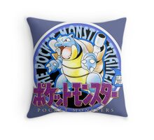 Pokemon Origins: Blue Throw Pillow