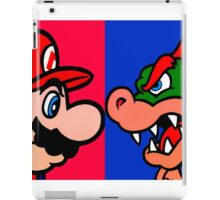 Mario vs King Koopa iPad Case/Skin