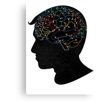Train of Thought Canvas Print