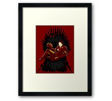 Iron Throne Framed Print