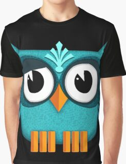 Cute Owl emerald Graphic T-Shirt
