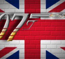 James Bond 007  Sticker