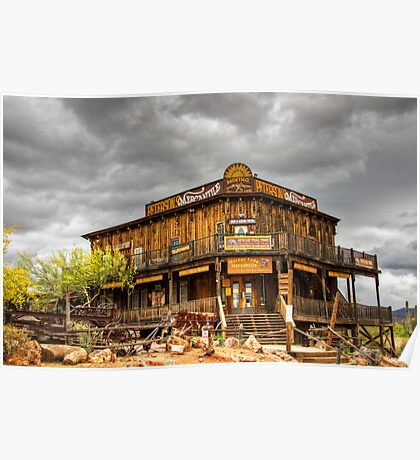Goldfield Ghost Town - Peterson's Mercantile  Poster