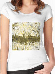 London skyline 4 Women's Fitted Scoop T-Shirt