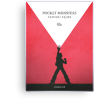 A Monster in your Pocket (Red Version) Canvas Print