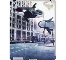 City of whales iPad Case/Skin