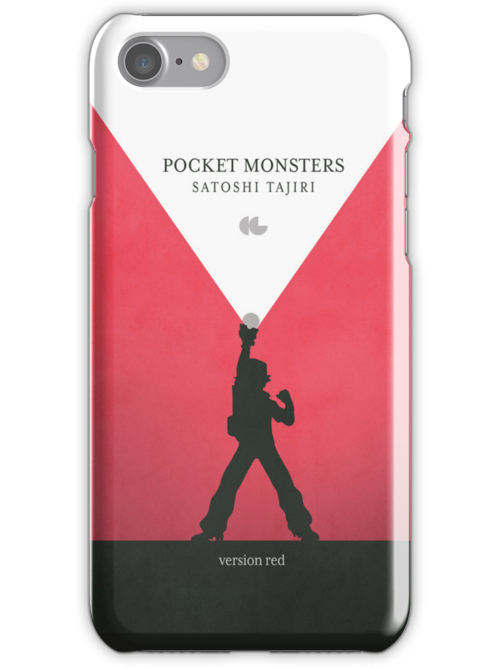 A Monster in your Pocket (Red Version) by gallantdesigns