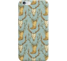 Cowboy Pattern iPhone Case/Skin