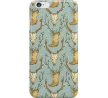 Cowboy Pattern iPhone Case/Skin