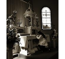 Devotion Photographic Print