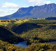 Australia,Tasmania, Mt Roland by photoj