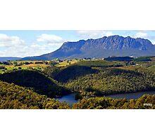 Australia,Tasmania, Mt Roland Photographic Print