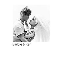 Barbie & Ken Photographic Print