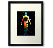 The Universe is in Us Framed Print
