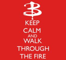 Walk through the fire Baby Tee