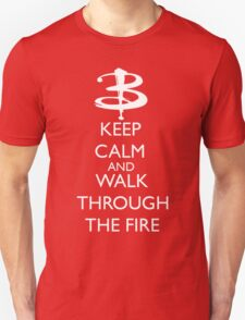 Walk through the fire Unisex T-Shirt