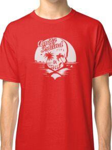 Jaws / Amity Island skull Classic T-Shirt