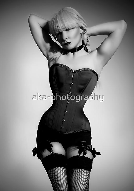Long line corset by aka-photography