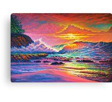 Pacific Vibrations Canvas Print