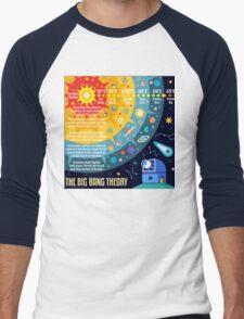 The Big Bang Theory Concept Men's Baseball ¾ T-Shirt