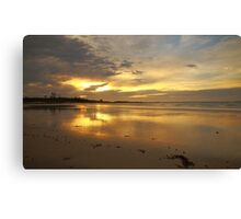 autumn skies, sunrise. eastcoast, tasmania Canvas Print