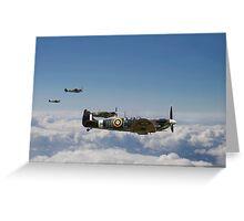 Spitfire - High Patrol Greeting Card